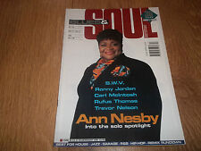 BLUES & SOUL MAGAZINE ( APRIL 30 - MAY 13, 1996 ) ISSUE 713 ANN NESBY