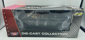 Die-cast: Collection RAM 1500 Pickup Truck (Black) 1/18 Scale  New/Sealed