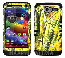 KoolKase Hybrid Cover Case for Motorola Electrify M XT901 - Camo Mossy 08