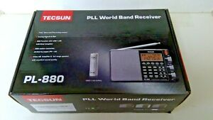 Tecsun Black PLL  World Band  Receiver PL -880