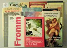 Spanish books - lot of 15