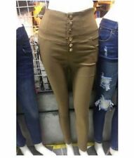 High Waist Pants Colored Free Size