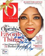 Oprah Winfrey O Autographed Signed Magazine PSA/DNA COA Christmas President ???