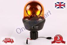 12/24V Rotante Lampeggiante Ambra Faro Flessibile Telaio Trattore