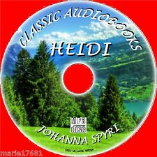 HEIDI BY JOHANNA SPYRI MP3 CD CLASSIC, A GREAT KIDS AUDIOBOOK UNABRIDGED NEW