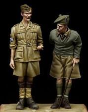 British NCO & Scottish Highlander Western Desert WW II 1/35 The Bodi 35097