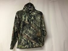 NWOT Men's Mossy Oak Pullover Sweatshirt Hoodie Size Medium Green Camo #872Z