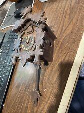 Bird And Leaf Model 1200 Black Forest Mechanical Cuckoo Clock
