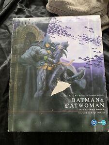 Batman & Catwoman By Kotobukiya porcelain Statue