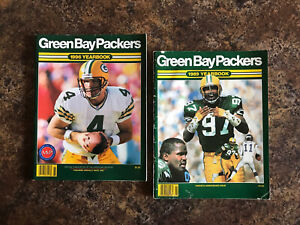 Green Bay Packer Yearbook 1989 1996 - Collectibles