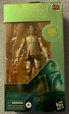 MIB 2020 HASBRO STAR WARS BLACK SERIES CARBONIZED BOBA FETT