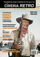 "CINEMA RETRO #46 JOHN WAYNE WATERLOO MADIGAN ALBERT FINNEY ""LOST"" INTERVIEW"