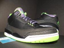 cd6553f8d0a1 Nike Air Jordan III 3 Retro JOKER ALL-STAR BLACK CEMENT GREEN PURPLE WHITE  OG