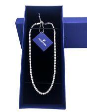 Tennis Deluxe Necklace White Rhodium 2019 Swarovski Crystal Jewelry 5494605