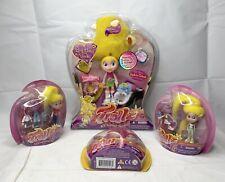 Trollz Lot Of 4 Dolls Its a Hair Thing Topaz Troll hopper 2004