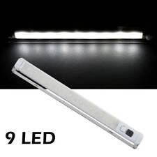 Luce per armadio 9 LED del gabinetto Bar Sensore Sensore Di Movimento PIR nuovo