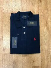 Ralph Lauren Men's Custom Fit Short Sleeve Polo - Navy - XXL