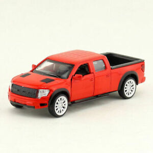 1:52 Ford F-150 Pickup Truck Model Car Diecast Toy Collection Pull Back Red Kids
