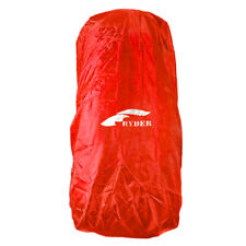 Sport Outdoor Waterproof Nylon Oxford Rain Cover for Backpack - Red (50~70L)