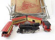 Hafner O Gauge Overland Flyer Tin Windup Locomotive Century of Progress Set RARE