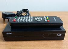 BUSH CDVB52 DIGITAL SET TOP BOX Plug And Play To Scart Output With Remote DVB-T