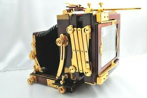 【 Exc +++++ 】 Tachihara Fiel Stand 4x5 Large Format with Bellows from Japan 985