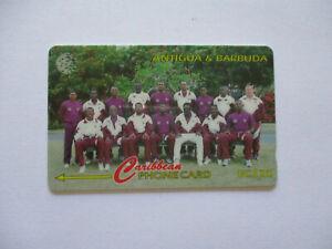 Caribbean Phonecard - Antigua & Barbuda - 145CATB West Indies 1996 Cricket Team
