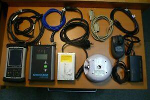 OmniSTAR 5120VBS DGPS Receiver Hemisphere A20 Antenna TDS Nomad Controller Set
