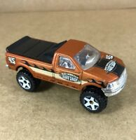 Hot Wheels Diecast 1997 Ford F-150 Pickup Truck 1:64 Scale Brown Loose