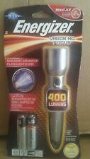 Energizer® LED 400 Lumens Metal Flashlight Vision HD Focus