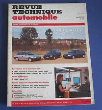 Revue technique  RTA 547 1993 Opel astra 1.4i 1.6i GSi GSi 16V