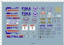 1/24 decals LANCIA DELTA HF 16v SANREMO RALLYE 62792