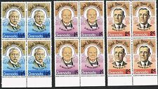 Grenada 1978. Nobel Prizes. Eijkman/Churchill/W. Wilson. Blocks.
