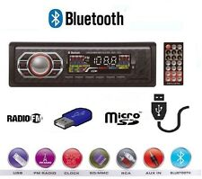AUTORADIO AUTO FM STEREO USB AUX MICRO SD CARD RADIO MP3 MP4 DEH-7612 BLUETHOOT