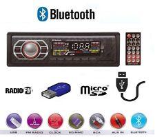AUTORADIO AUTO FM STEREO USB AUX MICRO SD CARD RADIO MP3 MP4 DEH-7612 BLUETHOOT