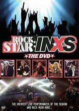 dvd rock stars INXS live LOSING MY RELIGION money BOHEMIAN RHAPSODY kiss from a