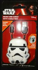 Disney Star Wars Micro USB Cable With Cable Tidy / 1 m Cable