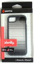 GRIFFIN Identity Static GB37653 Case for iPhone SE, 5/5s Black/Clear