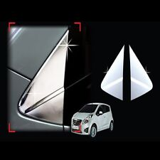 Chrome Side Mirror Braket A Pillar Cover For 10 11 12 Chevy Spark Matiz