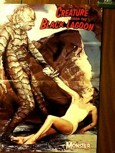 Creature From The Black Lagoon Magazine doublesided Centerfold Poster HG-13