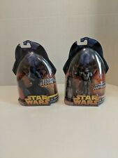 Star Wars Lot Of 2 Revenge Of The Sith Royal Guard blue & Neimoidian Commander