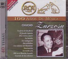 Chuco Zarzosa y su Orquesta 100 anos de Musica 2CD 40 TEMAS New Nuevo