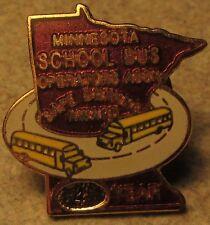 Vintage Minnesota School Bus Operators 4 Years Safe Driving Award Pin - MN Minn.