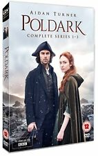 Poldark: Complete Series 1-3 [BBC] (DVD)~~~~Aidan Turner~~~~NEW & SEALED