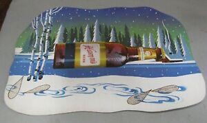 "RARE 1960's Hamm's Beer Cardboard Display Sign 19"" x 14"""