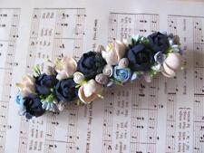 HANDCRAFTED Fashion polymer clay Fimo PRETTY flower Hair Barrette! HANDMADE