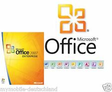 Produkt Key Für Office 2007 Enterprise 32/64 Bit Microsoft Vollversion