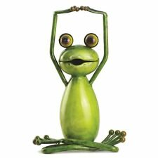 Large Lotus Stretch Yoga Frog Ideal Luxury Home and Garden Decoration