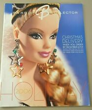 2006 Barbie Collector HOLIDAY Magazine