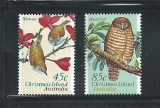 Christmas Island Scott # 399-400 MNH Birds
